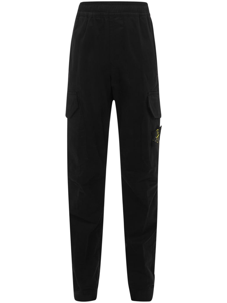 Stone Island Junior Trousers - Black