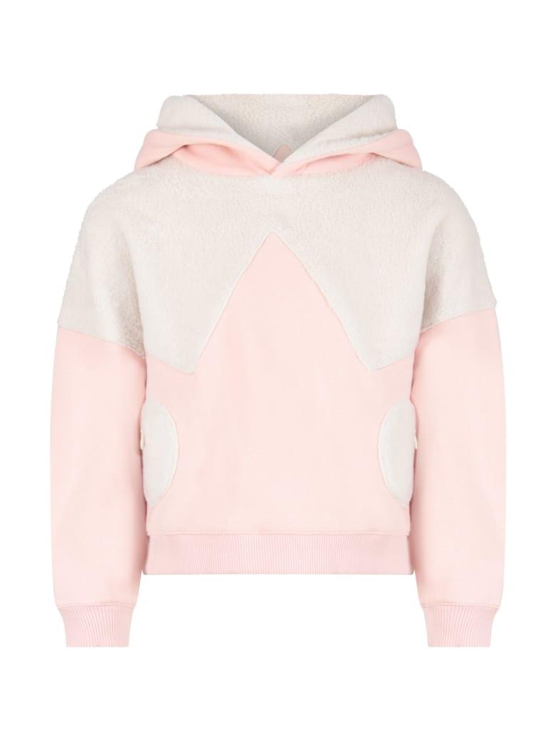Owa Yurika Pink ''hiyori'' Sweatshirt For Girl - Pink