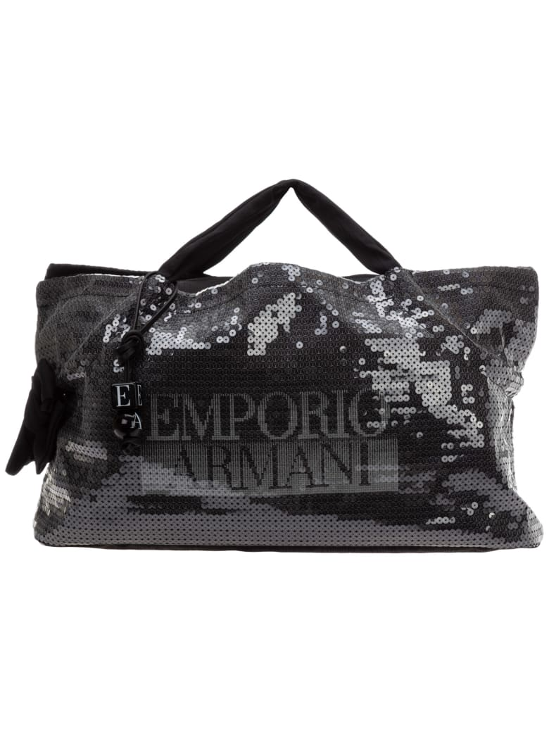 Emporio Armani Open Handbags - Nero