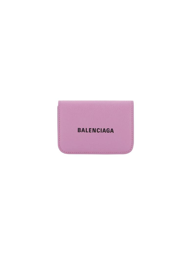Balenciaga Wallet - Lilac/ l black
