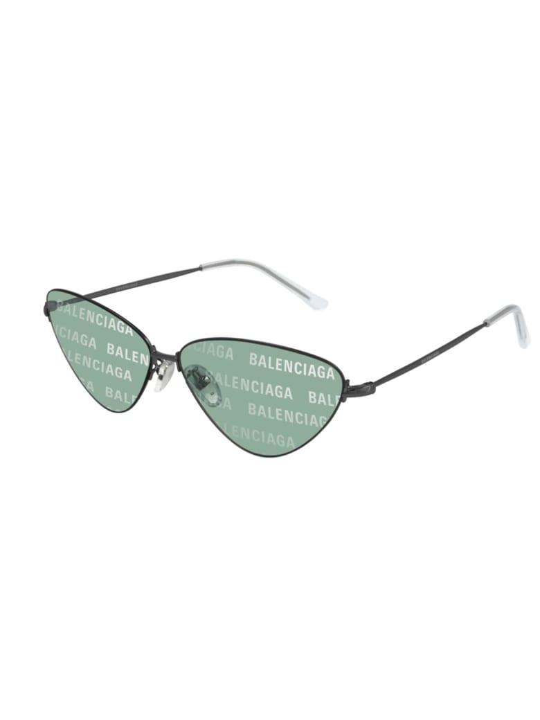 Balenciaga BB0015S Eyewear - Grey Grey Green