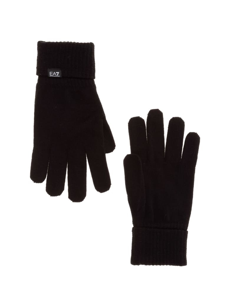 EA7 Emporio Armani Ea7 Icon Gloves - Nero