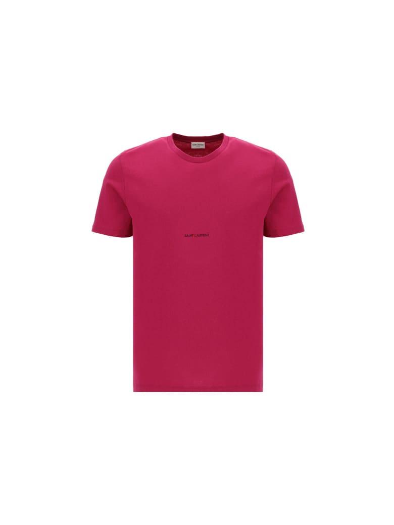 Saint Laurent T-shirt - Fucsia
