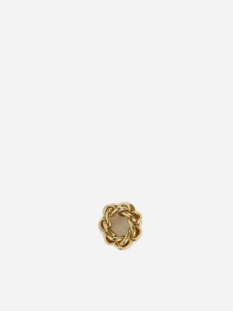 Bottega Veneta Yellow Gold Chain Ring - Yellow gold