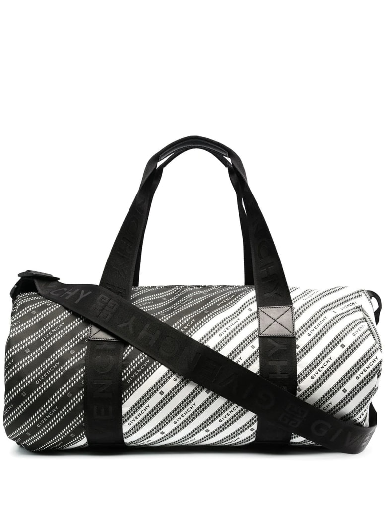 Givenchy Black And White Givenchy Light 3 Duffel Bag