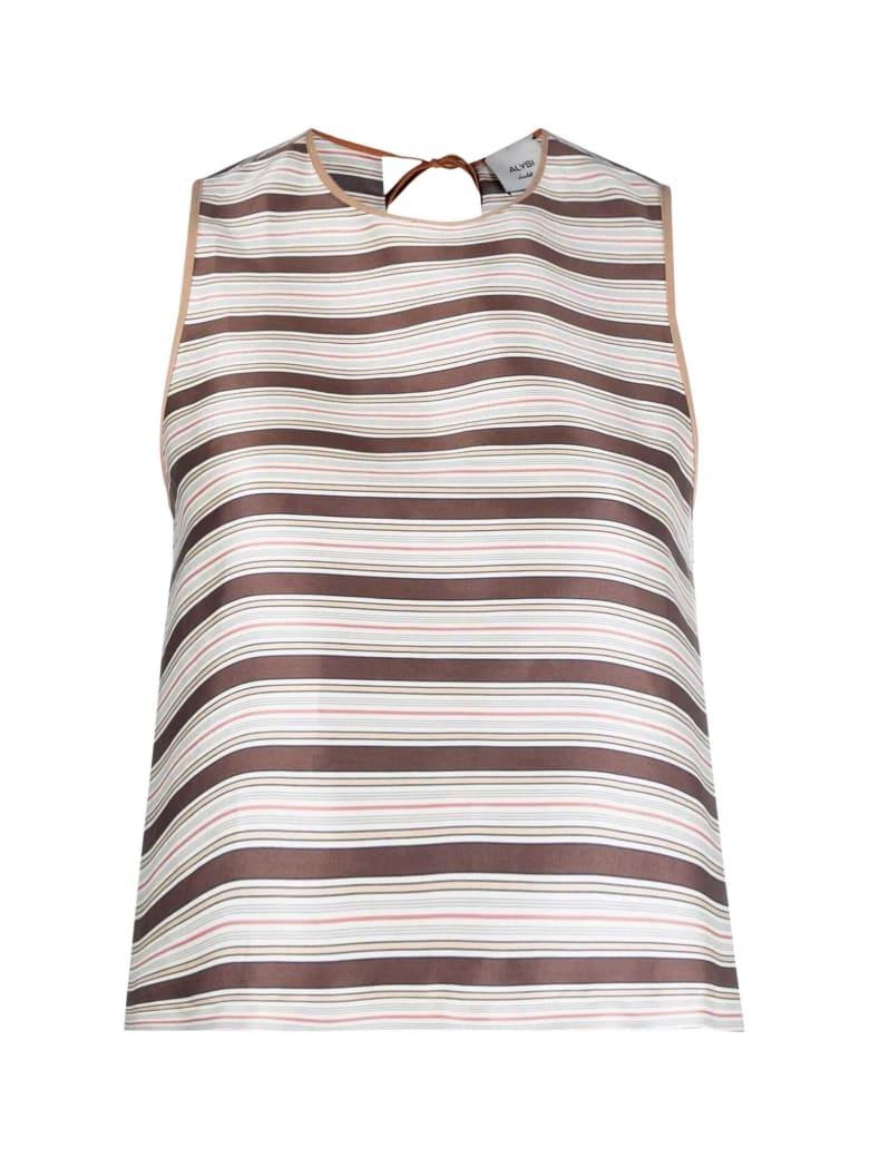 Alysi Striped Top - Unico