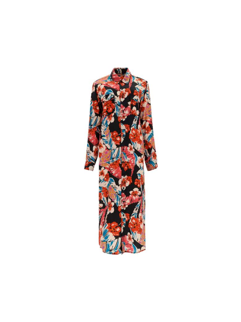 Saint Laurent Dress - Colorful flowers