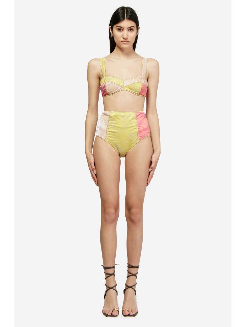 Oseree Blossom Colore High Waisted Beachwear - multicolor