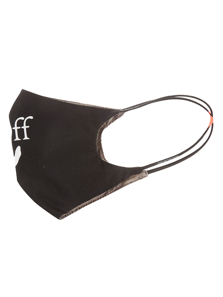 Off-White Off-hand Logo Simple Mask - Black/White