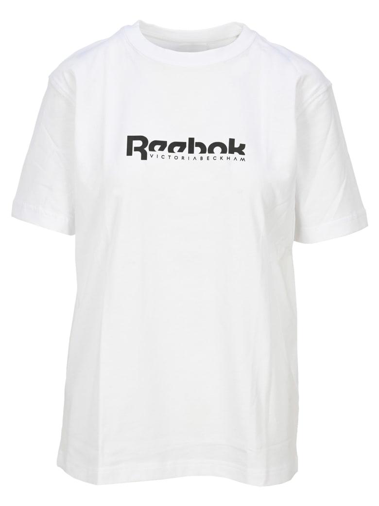 Reebok x Victoria Beckham Logo T-shirt - WHITE