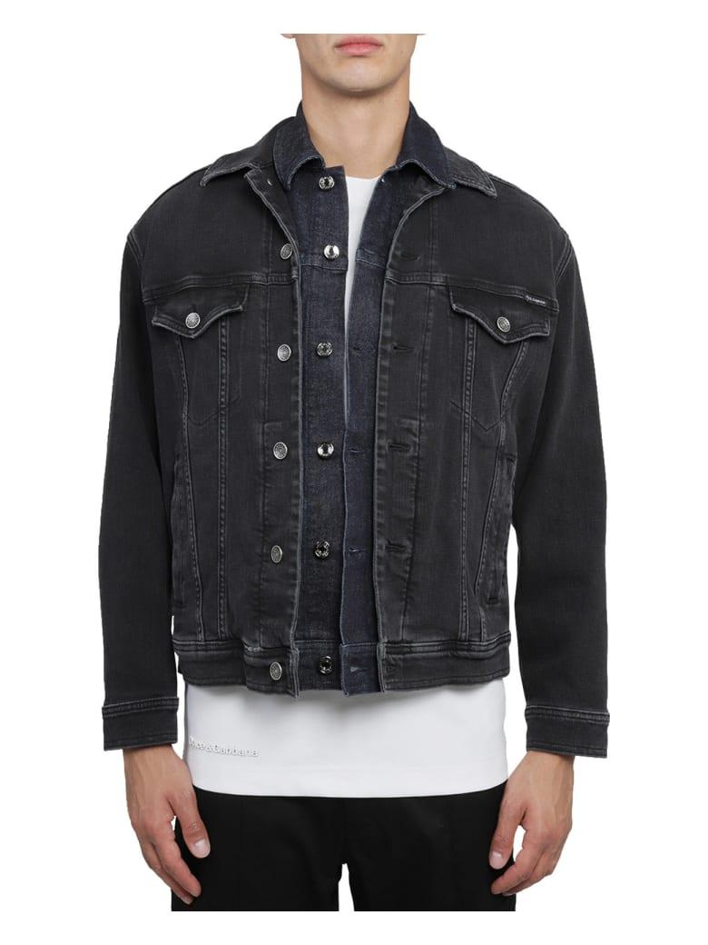 Dolce & Gabbana Double Denim Jacket - Black