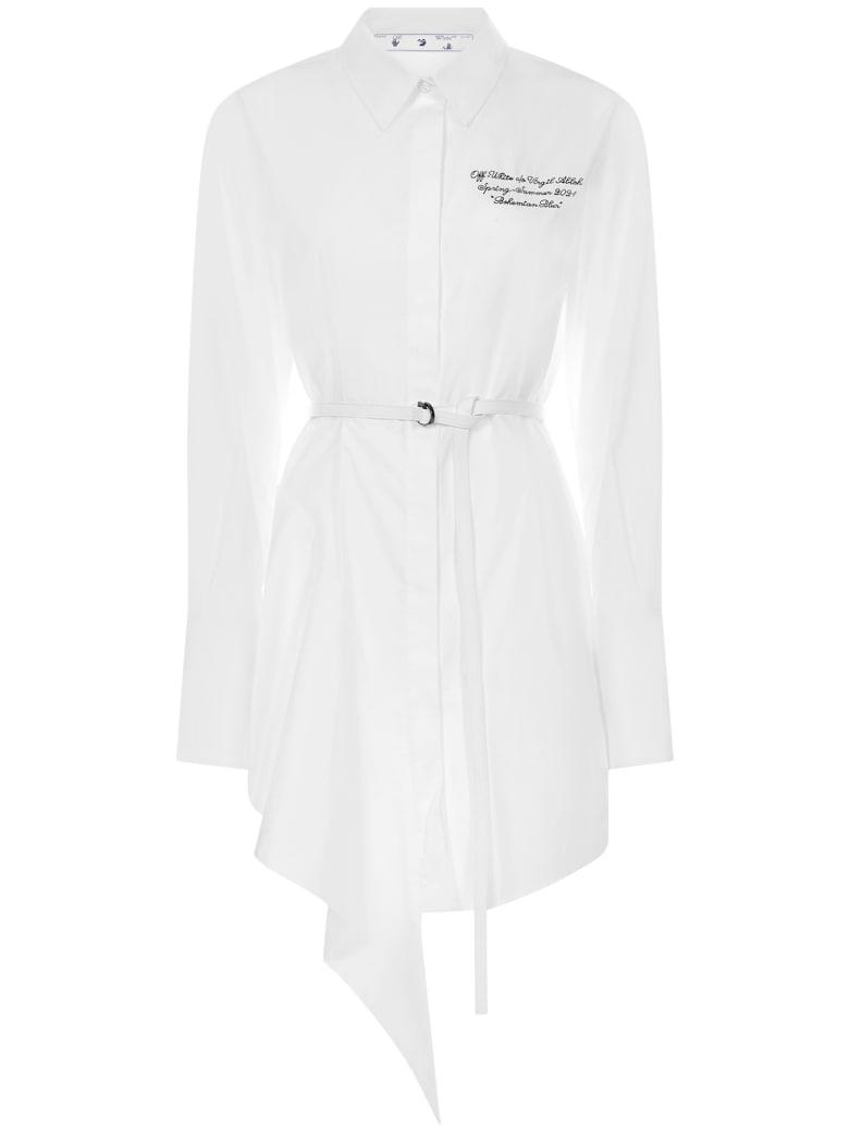 Off-White Dress - White
