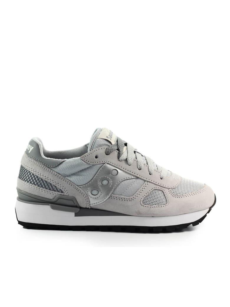 Saucony Shadow Original Grey Silver Sneaker - Grey / Silver