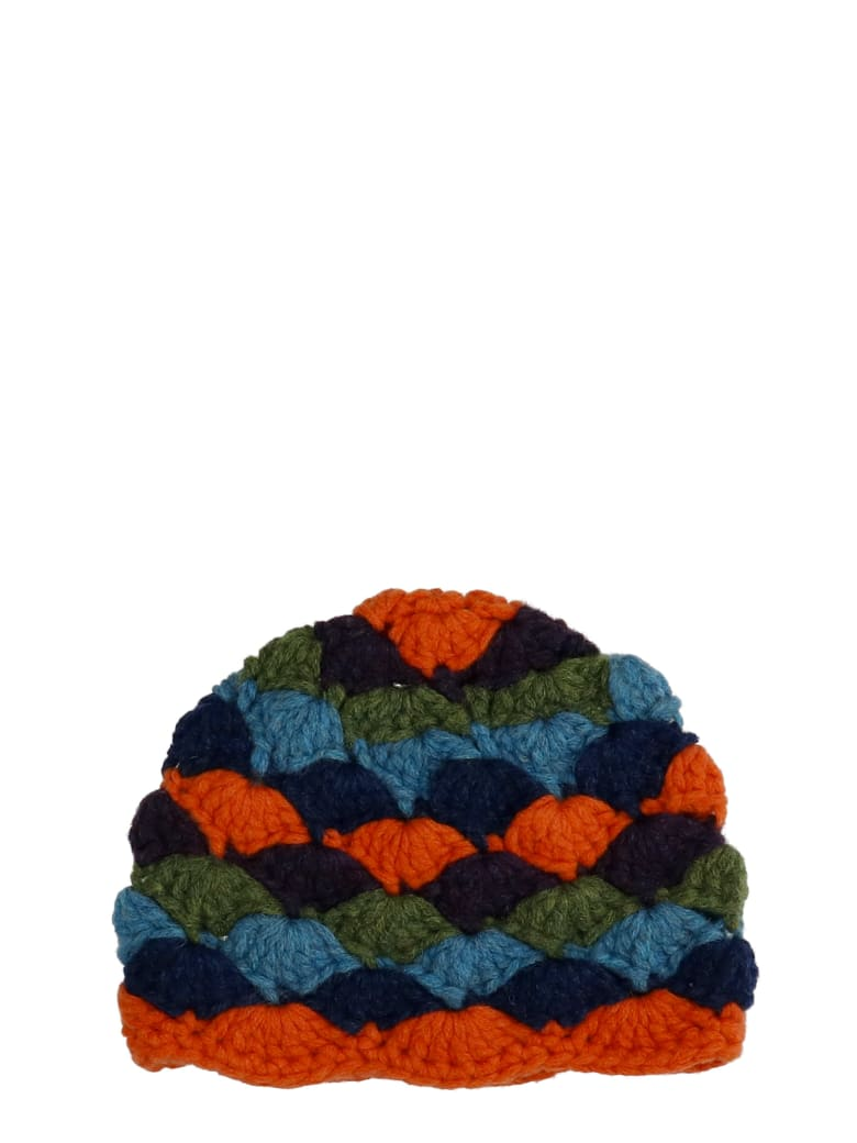 The Attico Hats In Multicolor Wool - multicolor