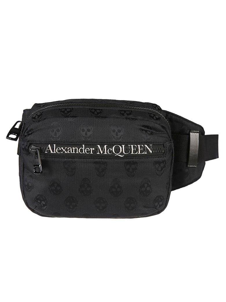 Alexander McQueen Skull Printed Belt Bag - Nero