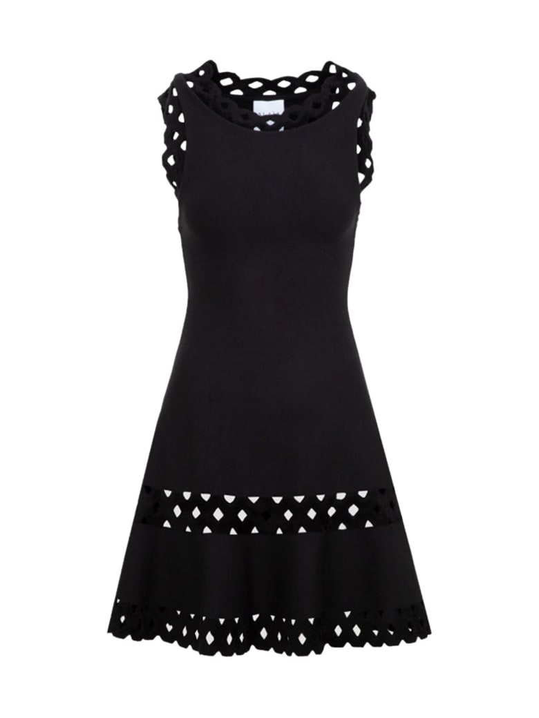 Alaia Wool Dress - Noir