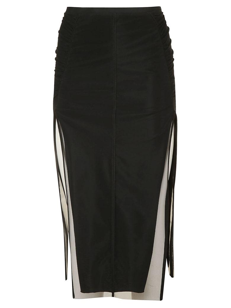 Rick Owens Collage Knee Length Skirt - Black