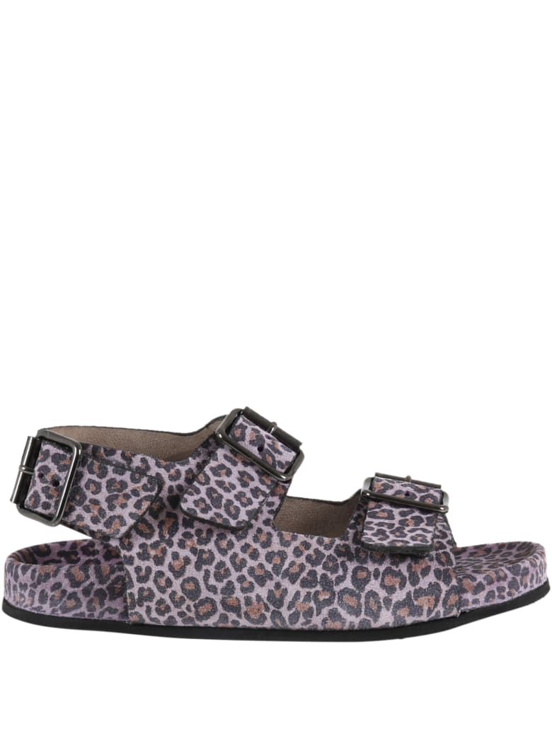 Gallucci Purple Sandals For Girl - Violet