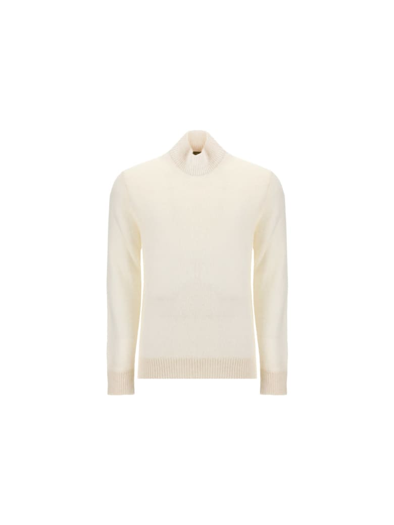 Lardini Turtleneck Knit - Ivory