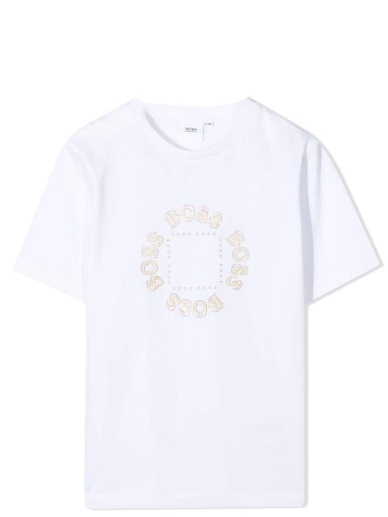 Hugo Boss T-shirt With Print - White