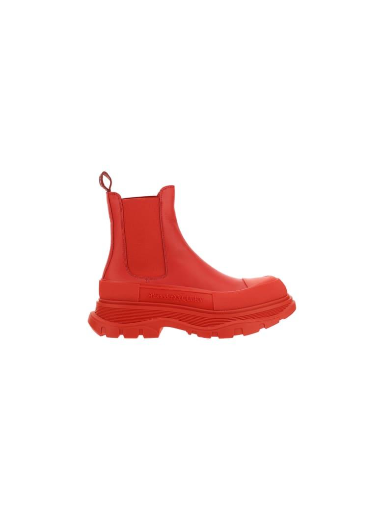 Alexander McQueen Alexander Mc Queen Boots - Welsh red/silver