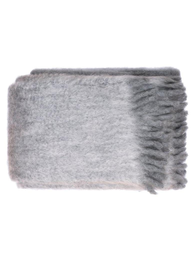 Midsummer Milano Cortina Mohair Plaid - Grey