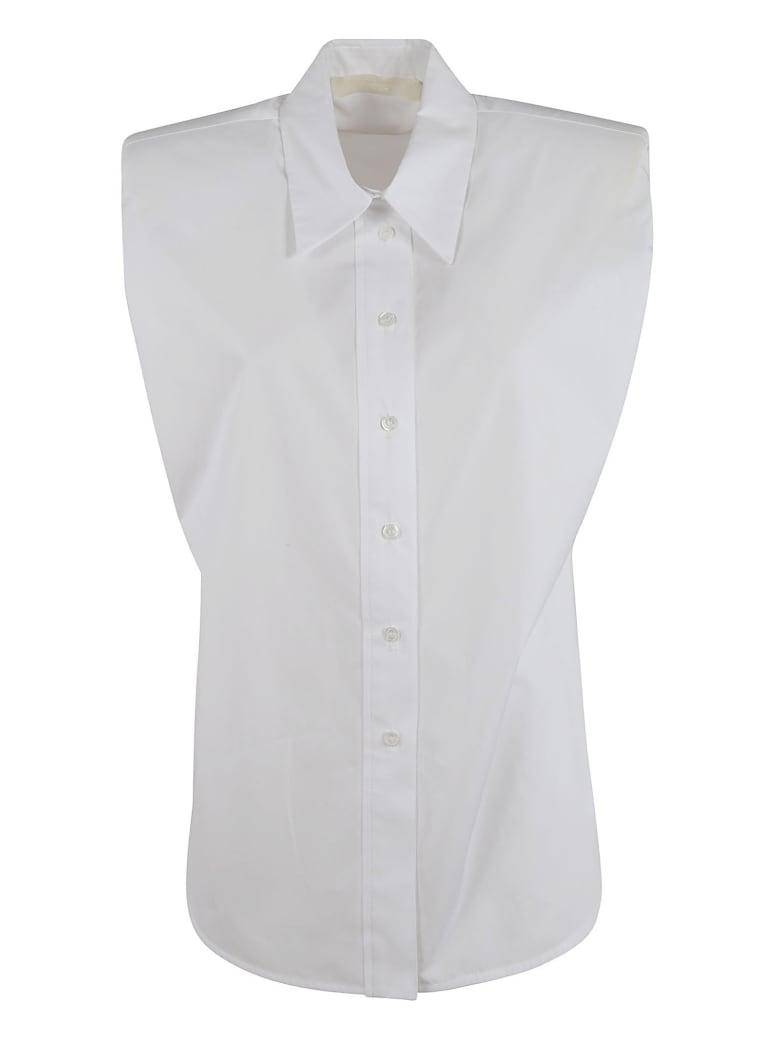 Tela Zanna Popeline Sleeveless Shirt - White