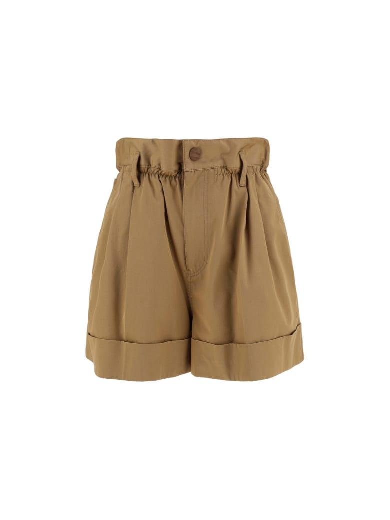 Moncler Bermuda Shorts - Beige