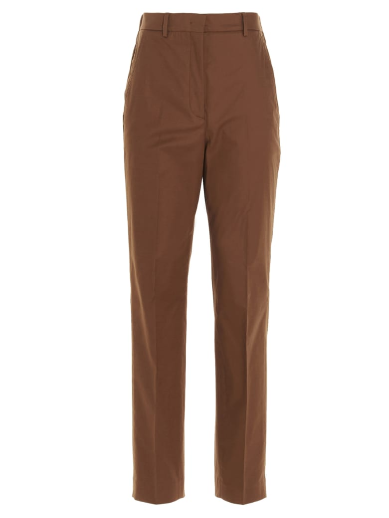 Incotex Red 'galene' Pants Incotex Red - BROWN