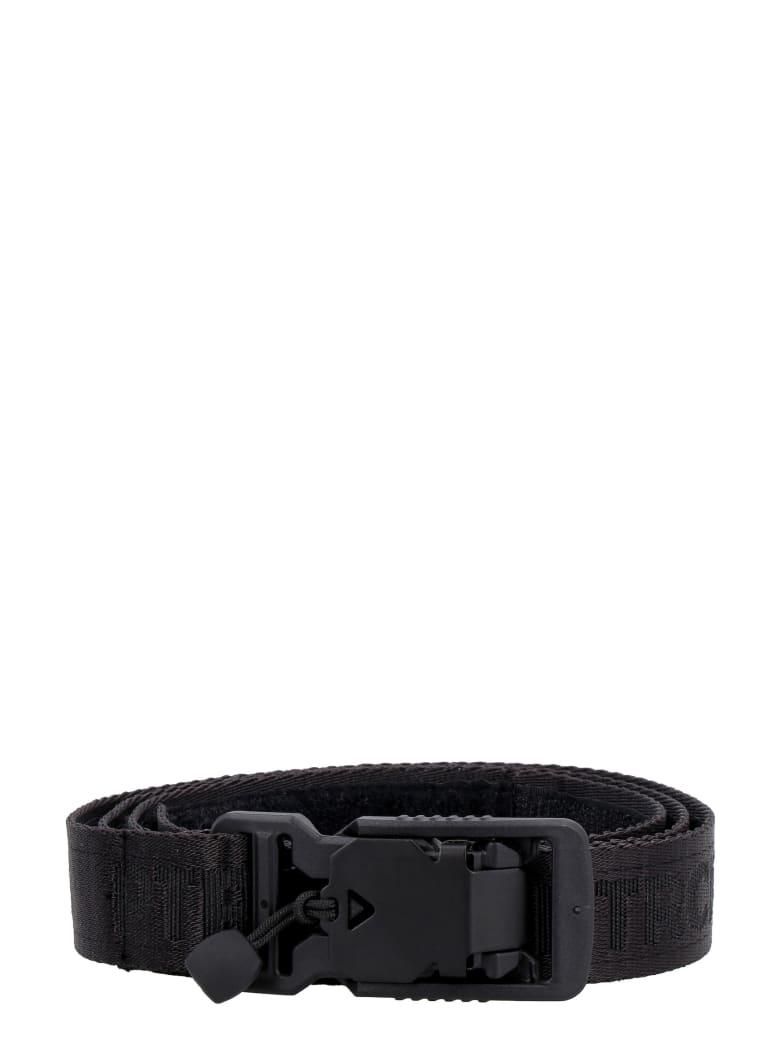 PTRCRS by Christian Petrini Fabric Belt With Logo - black