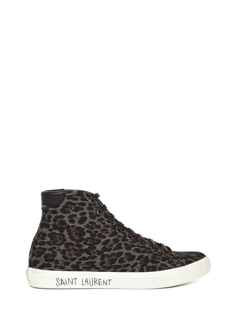 Saint Laurent Sneakers Malibu - Leopard