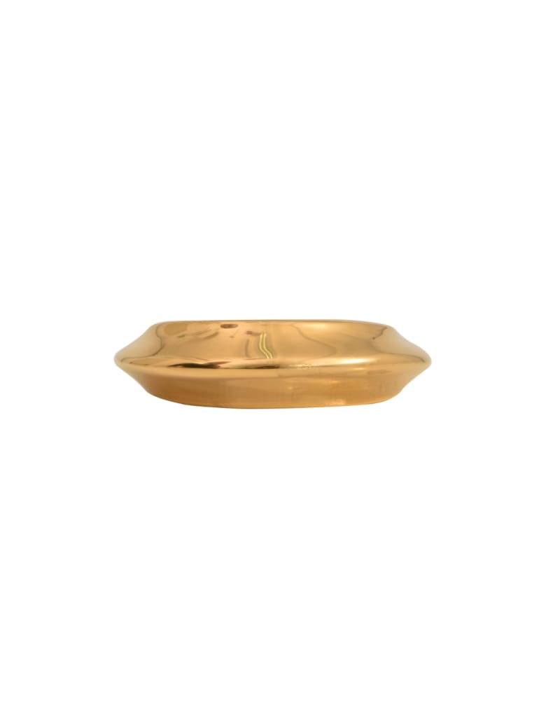 Celine Gold Metal Bracelet - Gold