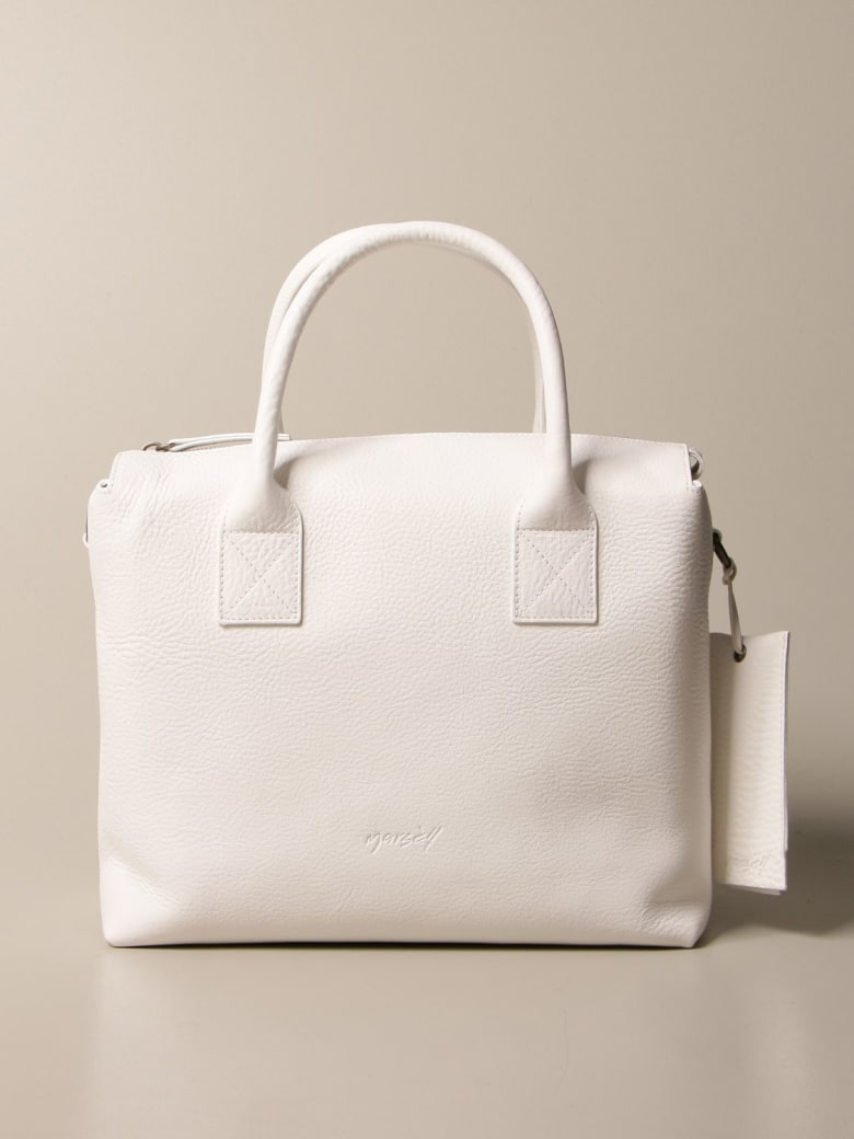 Marsell Handbag Marsèll Bag In Volonata Leather - White