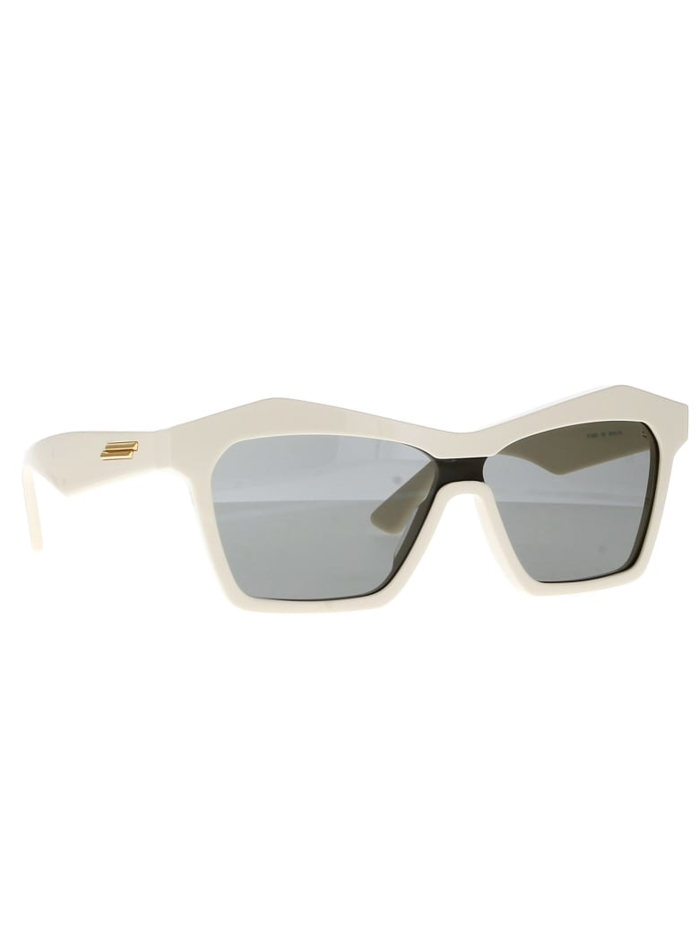 Bottega Veneta BV1093S Eyewear - Ivory Ivory Grey