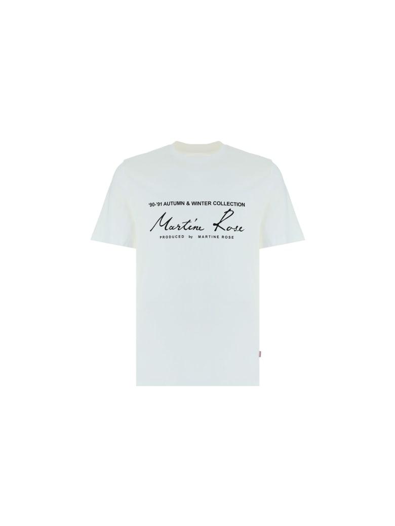 Martine Rose Martin Rose T-shirt - White