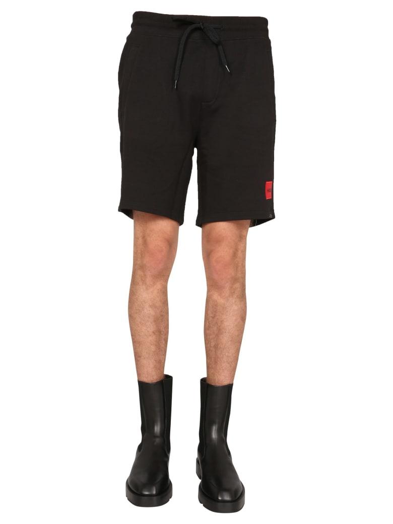 Hugo Boss Shorts With Logo - NERO