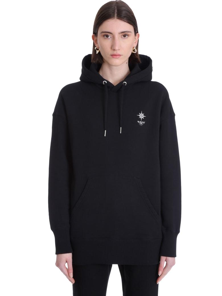 Givenchy Sweatshirt In Black Cotton - black