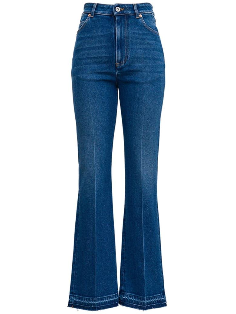 Valentino Flared Denim Jeans - Blu