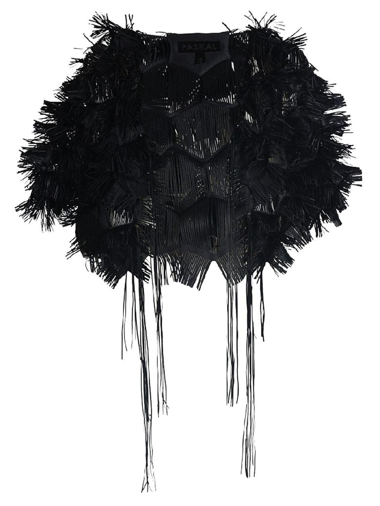 Paskal Laser Cut Boler Jacket - BLACK