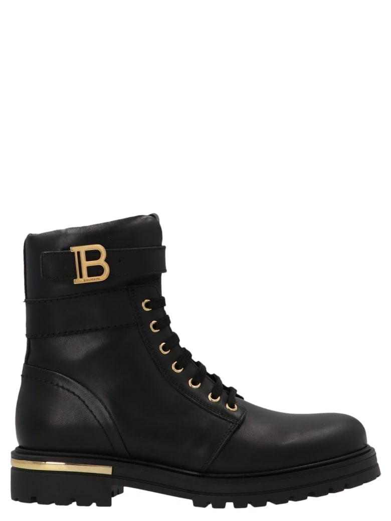 Balmain Shoes - Black