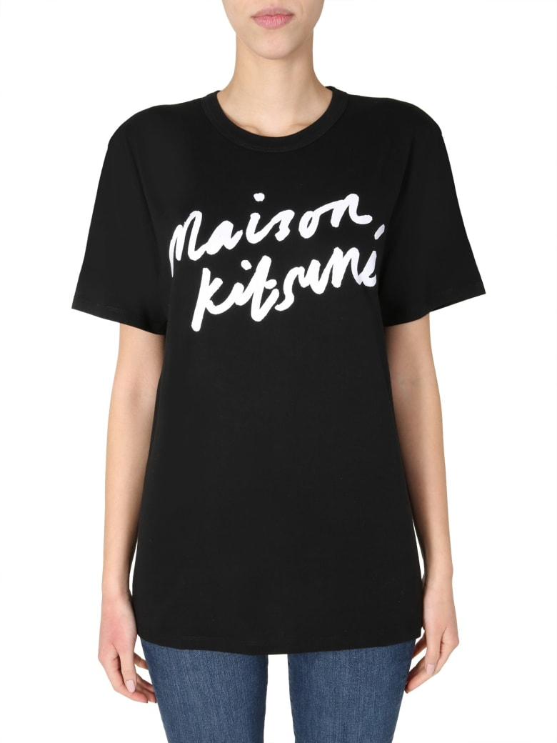 Maison Kitsuné Crew Neck T-shirt - Nero