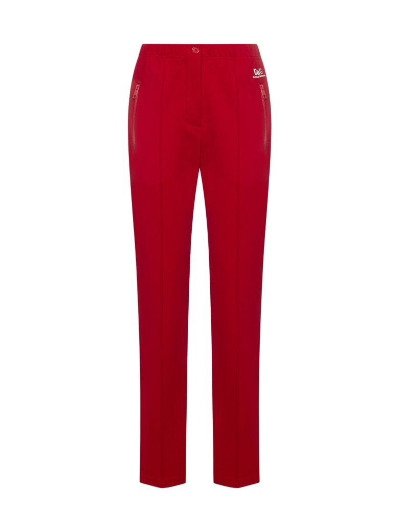 Dolce & Gabbana Pants - Rosso scurissimo