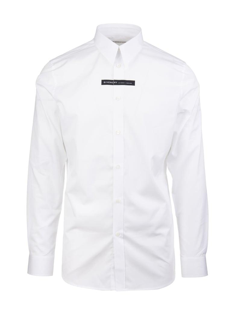 Givenchy Contrasting Panel Shirt