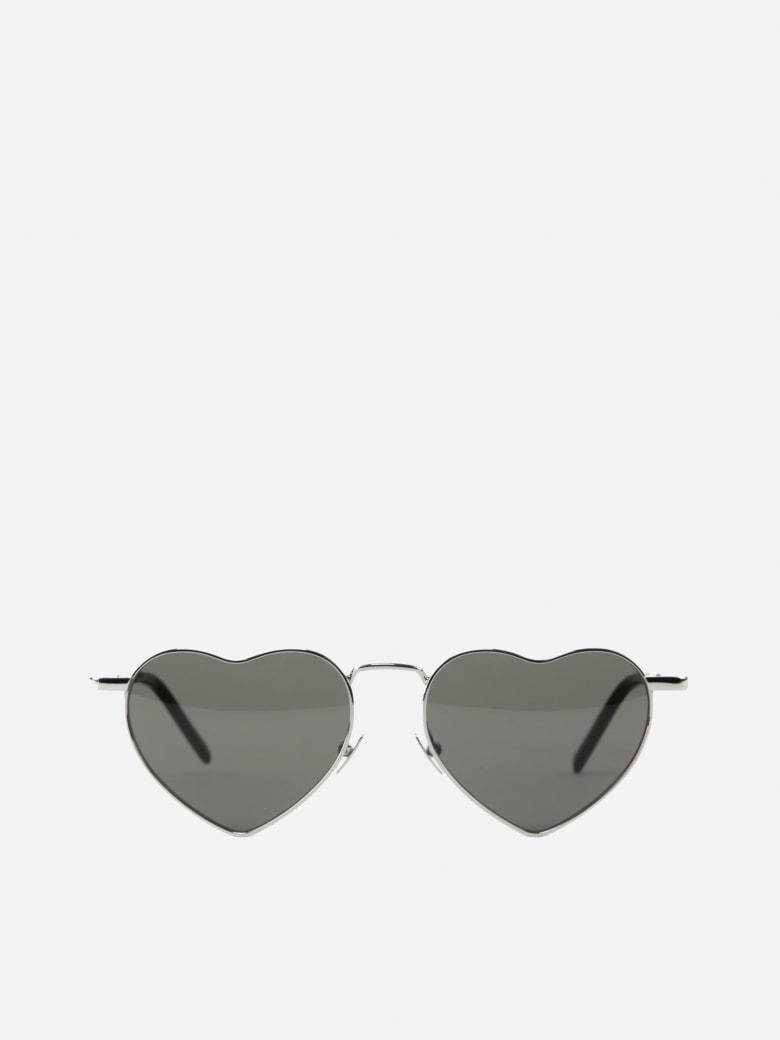 Saint Laurent Loulou Sl 301 Metal Sunglasses - Silver