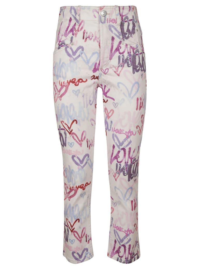 Isabel Marant Dilianebb Jeans - Multicolor