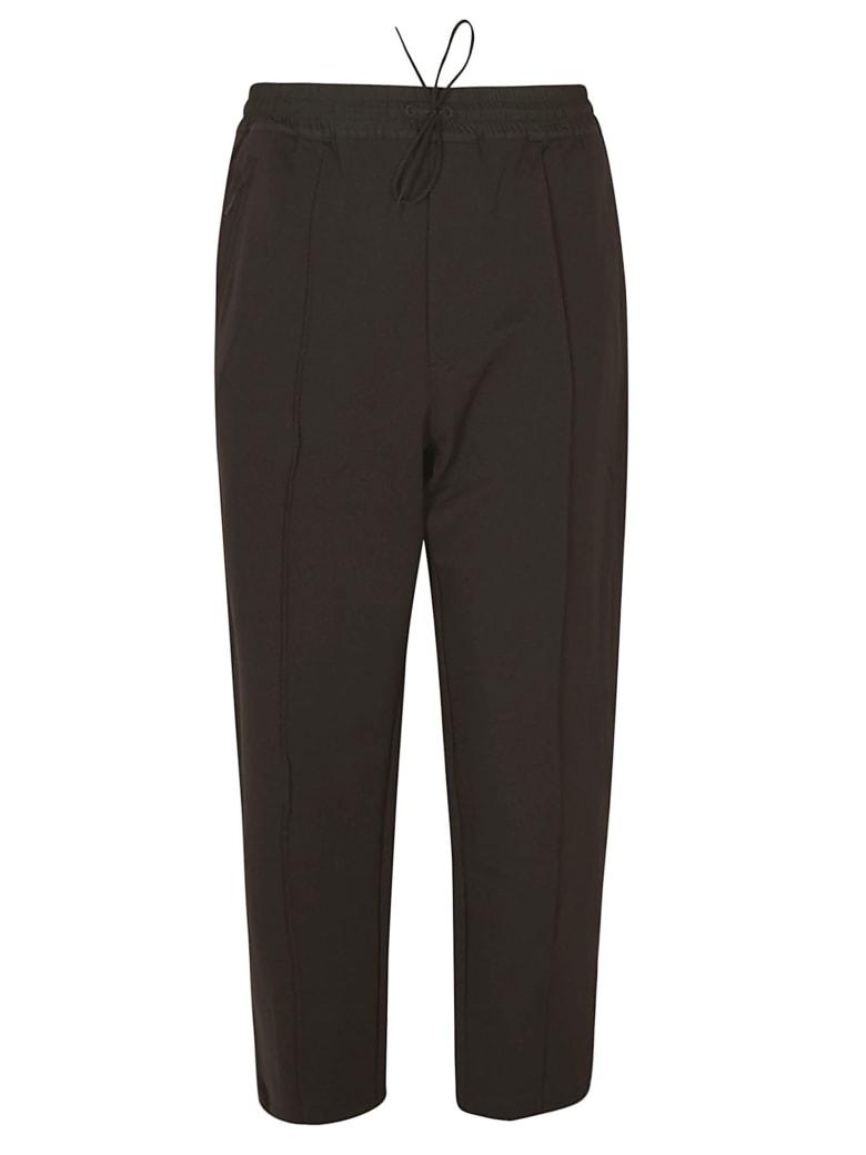 Y-3 Laced Track Pants - Black
