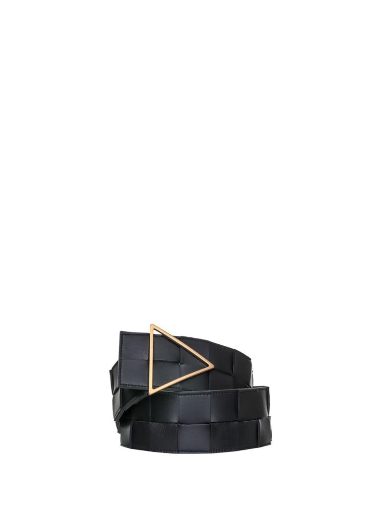 Bottega Veneta Bottega Veneta Triangular Belt - BLACK GOLD