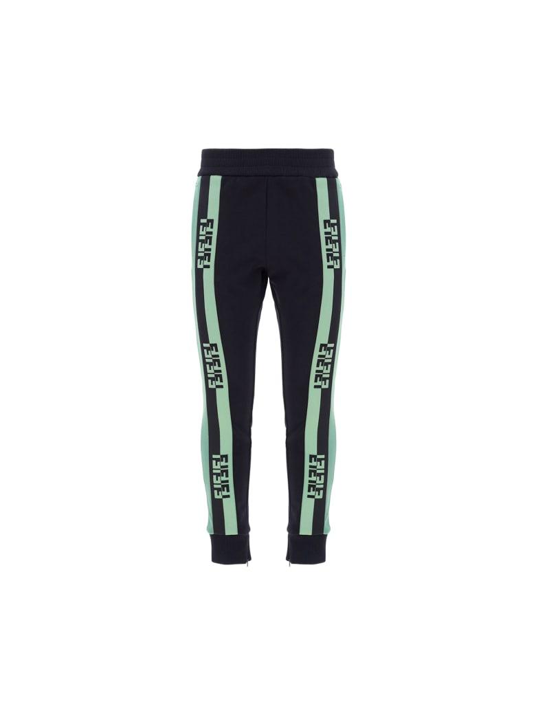 Fendi Sweatpants - Black+sage green