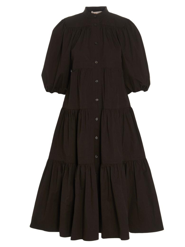 Tory Burch 'artist Button' Dress - Brown