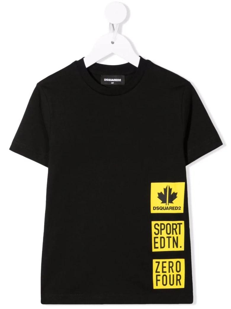 Dsquared2 Kids Sport Edtn. Black T-shirt